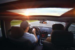 מסמס בנהיגה