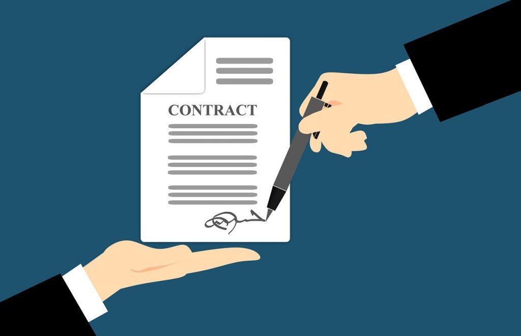 חוזה חתום על ידי עורך דין