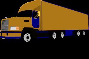 משאית ענקית