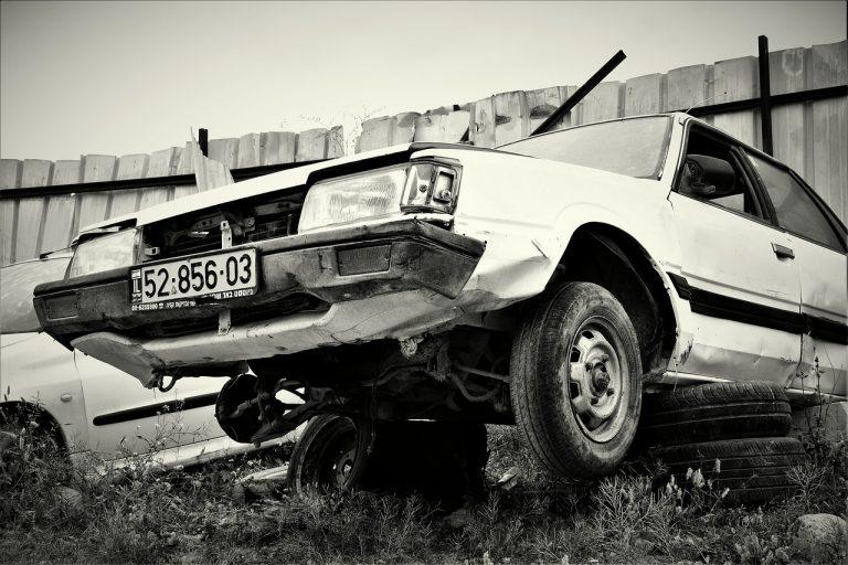 תאונת דרכים ראשית