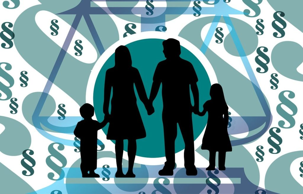 משפחה בתהליך משפטי